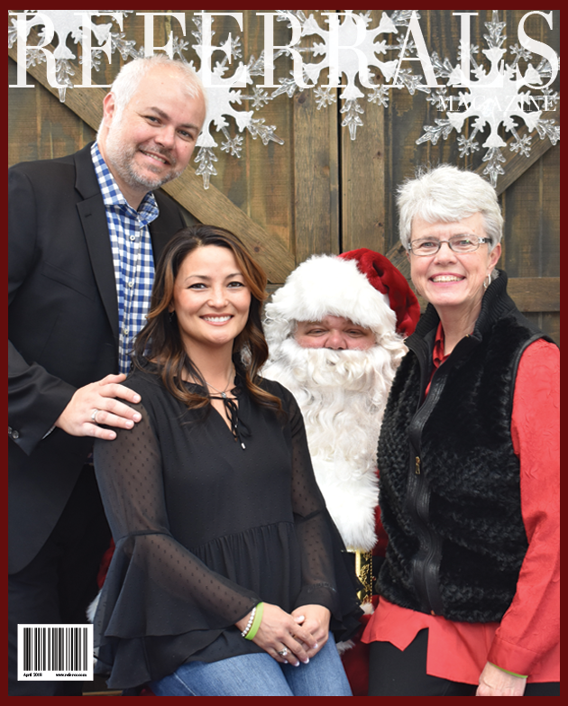 We make the cover of Referrals Magazine!